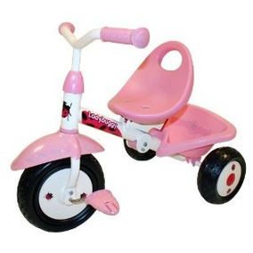 Kettler Kiddi-o Ladybuggy Fold N Ride Triciclo