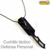 Cuchillo Táctico Defensa Personal Fuerzas Armadas Collar