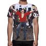 Camisa, Camiseta Michael Jackson - Olodum - Estampa Total