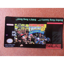 Label - Donkey Kong Country 2 - Extra Qualidade - S-nes