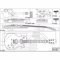 Plantas Guitarras Fender,esp,strato,gibson,ibanez,les Paul