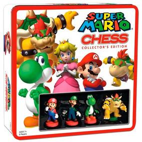 Super Mario Bros Ajedrez Edición Coleccionistas