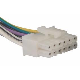 Conector Chicote Soquete Fio Cabo Plug Instalar Som Lenoxx