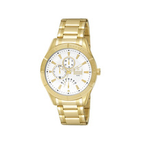 Relógio Dumont Masculino Grande Dourado 4,9 Cm - Dujr10aa/4k