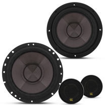 Falante 6 + Mini Tweeter 200w Rms Cs60p Kit 2 Vias Bravox