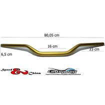 Guidão Esportivo Cb1000r Em Aluminio Dourado Speed China