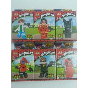 Lego Ladybug As Aventuras De Miracoulus - Kit Completo!!