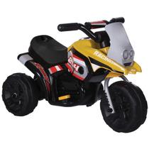 Triciclo Elétrico Mini Moto Luz Som Infantil Bel
