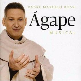 Cd Padre Marcel Rossi - Ágape Musical (original E Lacrado)