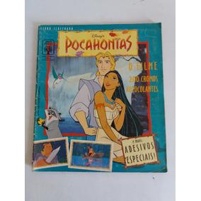 Álbum De Figurinhas Livro Ilustrado Pocahontas 1995 Completo