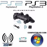 Controles Inalámbricos Ps2/ Ps3/ Pc 2.4g