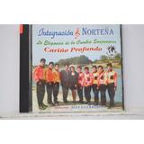 Teo Cd Integración Norteña Cariño Profundo Cumbia Peruana