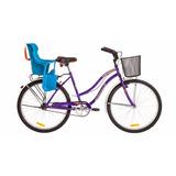 Bicicleta Paseo Playera Halley 19349 Mujer Dama Silla Nene