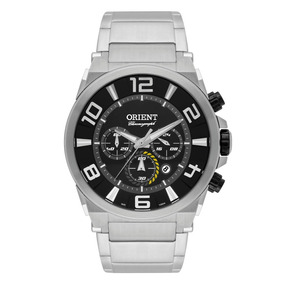 Relógio Orient Mbssc158 Masculino Cronógrafo Visor Preto