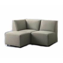 Sofá Pequeno 1 Lugar Com Chaise