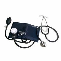 Kit Aparelho De Pressão Análogico + Estetoscopio Premium