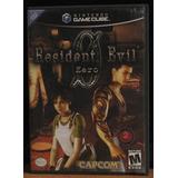 Resident Evil Zero 0 Como Nuevo Gamecube
