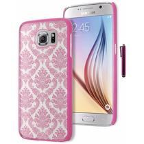 Funda Para Celularla Caja Del Teléfono Galaxy S6, Diseño Ros
