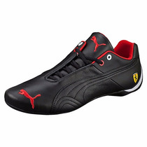 Zapatillas Puma Ferrari Future Cat Leather Sf Negro