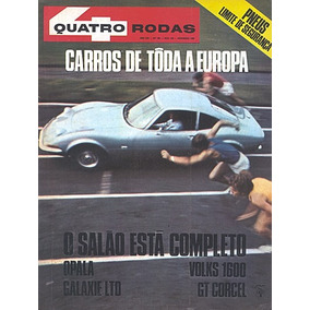 4r.100 Nov68- Ferrari356 Karmann Galaxie Ltd Opala Corcel