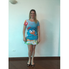 Vestido Mãe E Filha Galinha Pintadinha