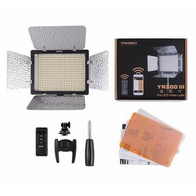 Iluminador Led Yn-300 Iii + Bat. F970 + Carreg. + Fonte