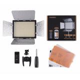 Iluminador Yn-300 Iii + Bat. F970 + Carreg. + Fonte + Tripé