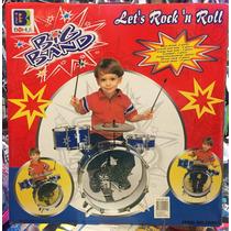 Bateria Musical Infantil Instrumento Musical