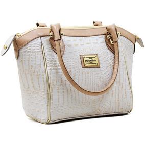 Bolsa Luxo 100% Couro Alta Qualidade Moderna Linda Classica