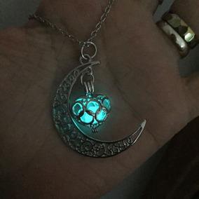 Colar Lua Encantada (brilha No Escuro)