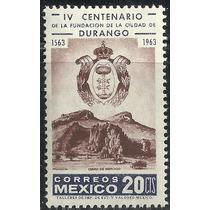 1963 Fundación De Durango, Cerro Del Mercado Sc. 935 Mnh