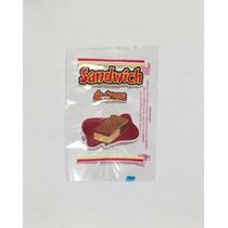Bolsa De Polipropileno Para Sandwich De Nieve Impresa