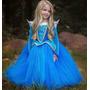Disfraz Vestido Nena Importado Princesa