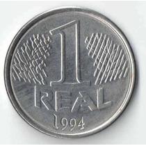 Antiga - Moeda Brasil 1 Real 1994 (rara)