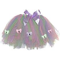 Disfraz Para Niña Las Niñas De La Mariposa Falda Del Tutú D