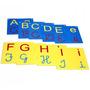 Varal De Letras Alfabeto Em Eva 26 Peças Material Pedagógico
