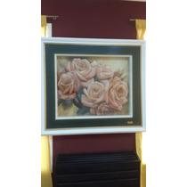Perfume De Rosas - Cuadro En Arte Francés