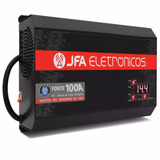 Jfa 100a - Fonte Carregador Bateria Slim Inteligente Digital