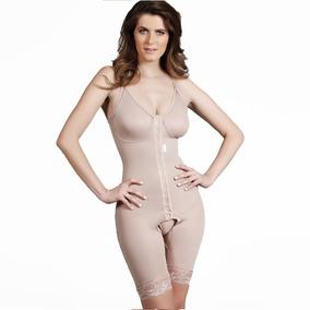 Cinta Modeladora Pós Cirúrgica Plástica Shorts Com Colchetes