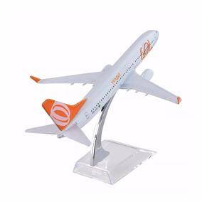 Miniatura Aviao Metal Boeing Airbus Varios Modelos 16x15 Cm
