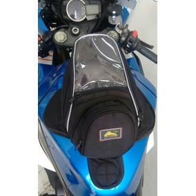 Bolsa De Tanque Moto Imã Mochila Lateral Honda Suzuli Honda