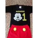 Conjunto Mickey Personalizado