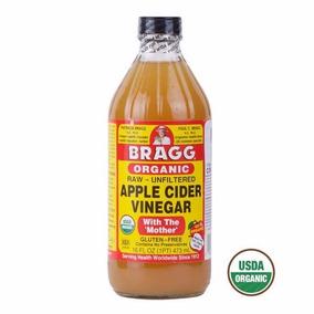 Vinagre De Manzana Organico, Bragg 473ml.