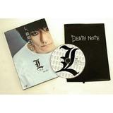 Death Note Caderno E Dvd Anime Manga L Importado