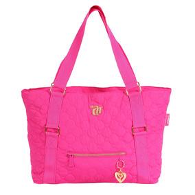Bolsa Tote Capricho Love Vii Pink Original Dmw Coleção 2016
