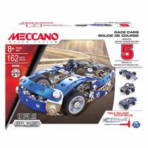 Meccano 16208 Race Cars Autos Carreras 5 Modelos Mundomanias