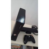 Xbox 360+kinect Original+controle S/fio+frete+12x S/juros