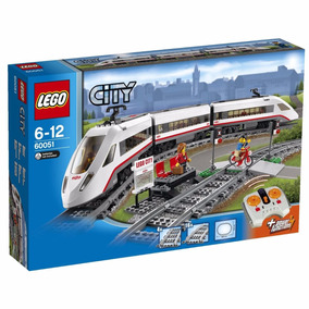 Lego Trains 60051 Trem De Passageiros.*pode Retirar Sbc *