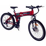 Bicicleta Elétrica Aluminio Hp600 Dobravel