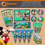Kit Imprimible La Casa De Mickey Mouse Personalizado Gratis